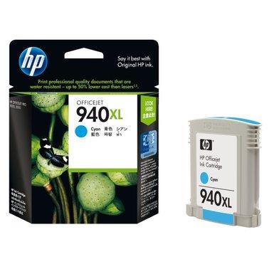 Inkcartridge HP C4907AE 940XL blauw HC