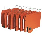Hangmap Elba TUB folio U-bodem 50mm oranje