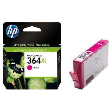 Inkcartridge HP CB324EE 364XL rood HC