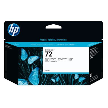 Inkcartridge HP C9370A 72 foto zwart