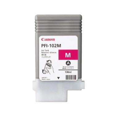 Inkcartridge Canon PFI-102 rood