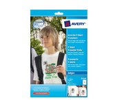 T-shirt transfer Avery E3240 A5 148.43X210Mm 40vel