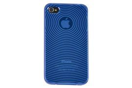 Telefoonhoes Dresz TPU grip case iPhone 4/4S blauw