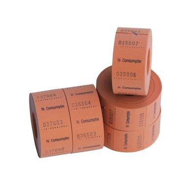 Consumtiebon 1/2 cons 500st oranje