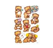 Etiket Herma 3578 beren met bloemen