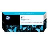 Inkcartridge HP C9470A 91 lichtblauw