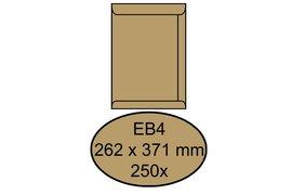 Envelop Quantore akte EB4 262x371mm bruinkraft 250stuks