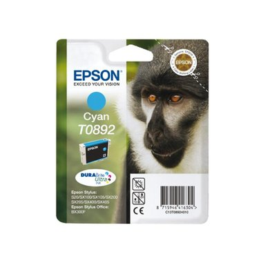 Inkcartridge Epson T0892 blauw