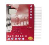Interieur Multo 23-rings 50vel muziekpapier