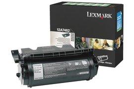 Tonercartridge Lexmark 12A7462 prebate zwart
