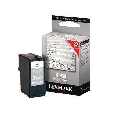 Inkcartridge Lexmark 18C2190E 36XLA zwart XHC