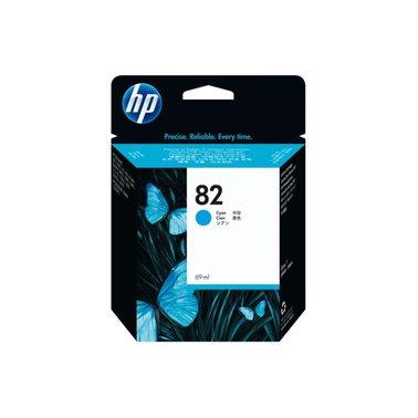 Inkcartridge HP C4911A 82 blauw