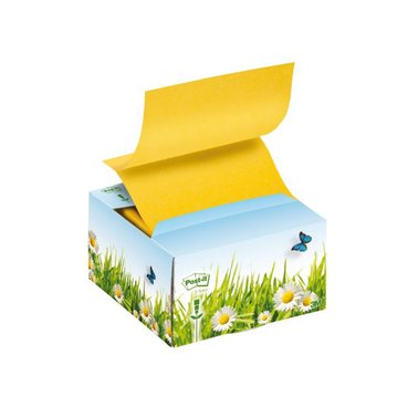 Memoblokdispenser 3M Post-it Z-Notes B330 recycled bloemen