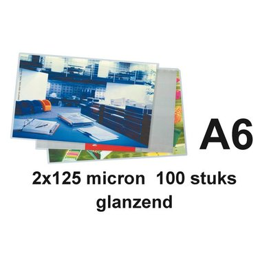 Lamineerhoes GBC A6 2x125micron 100stuks