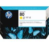 Inkcartridge HP C4873A 80 geel