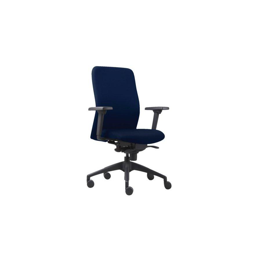 Chaise de bureau euroseats vigo bleu commandez votre - Chaise de bureau bleu ...