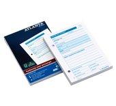 Kasbewijs Atlanta A5406-033 ontvangst A6 100vel