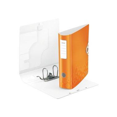 Ordner Leitz WOW Active 1106 A4 75mm oranje