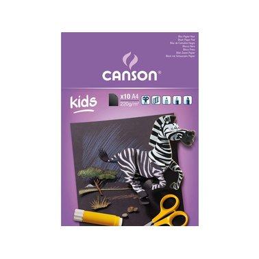 Tekenblok Canson Kids A4 220gr 30vel