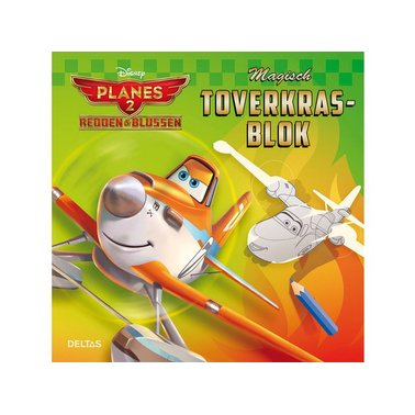 toverkrasbok Deltas Disney Planes