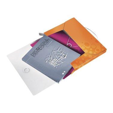 Documentenbox Leitz WOW 30mm PP oranje