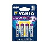 Batterij Varta Professional lithium 4xAAA