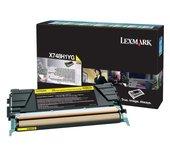 Tonercartridge Lexmark X748H1YG prebate geel