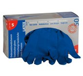 Handschoen huishoud high risk blauw medium