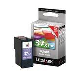 Inkcartridge Lexmark 18C2200E 37XLA kleur XHC