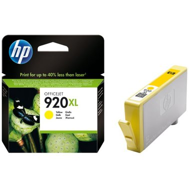 Inkcartridge HP CD974AE 920XL geel HC