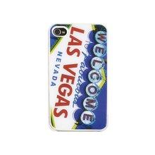 Telefoonhoes Dresz iPhone 4/4S motief Las Vegas