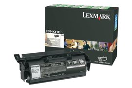 Tonercartridge Lexmark T654X11E zwart HC