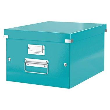 Opbergbox Leitz Click & Store 265x188x335mm ijsblauw