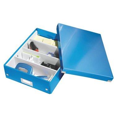 Opbergbox Leitz Click en Store 280x100x370mm blauw