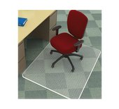 Stoelmat Q-Connect pvc 120x150cm tapijtvloer
