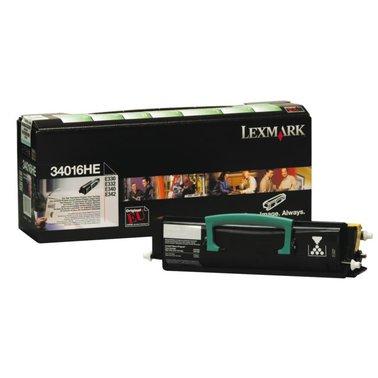 Tonercartridge Lexmark 34016HE prebate zwart