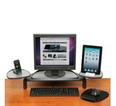 Kensington Standaard voor plat beeldscherm zwart met SmartFit-systeem