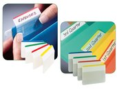 POST-IT® Index Strong archiveringstabs 4 x Index plat (blauw, groen, rood en geel) (verpakking 24 stuks)