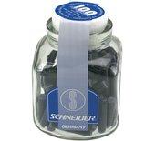 Inktpatroon Schneider din blauw pot 100stuks